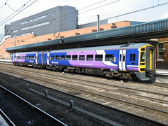 158850 Doncaster 170713 (Dan86401) Tags: 158850 class158 1580 sprinter supersprinter br brel dmu dieselmultipleunit northern doncaster 1j29 expresssprinter