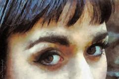 img0067 F copie (C&C52) Tags: illustration femme dessin yeux regard