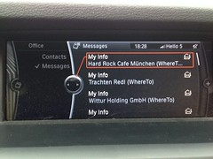 Sending places from Where To? to BMW ConnectedDrive 1
