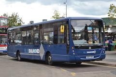 Rotala Group Blue Diamond 30704 KX57OVS (Will Swain) Tags: uk travel blue england west bus buses birmingham britain transport group august diamond 13th midlands 2014 rotala 30704 kx57ovs