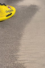 Lifeguards (Gary Baldy) Tags: beach sand pentax devon surfboard exmouth rnli k20d sigma18250mmmacro