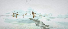 in the cloud -  Somewhere in sl 743 (Howl Main Shop, Intro (88, 179, 37)) (wuwaichun (sometimes on - sometimes off)) Tags: life travel portrait art photo artwork foto place pic sl adventure story secondlife mysterious second guide artphotography wuwaichun
