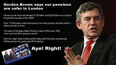 GordonBrownPensions (GeoJuice) Tags: referendum scaremongering pensions geojuice separationfromwhat patronageintheuk