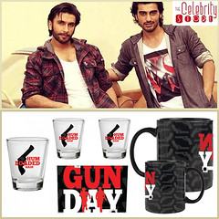 Create a buzz with Gunday! (The Celebrity Store) Tags: gunday ranvirsingh arjunkapoor thecelebritystore