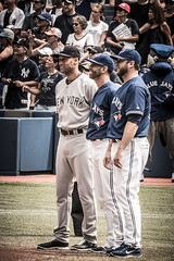 BlueJays Honoring Jeter (b.m.a.n.) Tags: toronto ontario canada baseball mlb torontobluejays derekjeter markbuehrle josebautista sonyalphaslta77