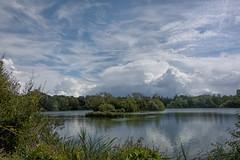 Thatcham Lakes sky