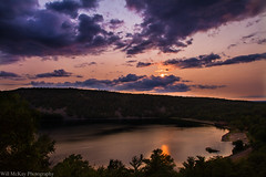 Devils Lake Wisconsin (willmckayphotography) Tags: statepark sunset lake wisconsin canon midwest devils madison bouldering rockclimbing devilslake longexsposure lazyshutter willmckayphotography