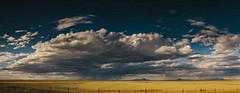 Big Sky Panorama (MightyBoyBrian) Tags: panorama storm clouds canon 50mm montana pano wide system amtrak stormclouds outthewindow shutterpriority bigskycountry 50mmf12 9images seenwhiletraveling