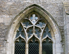 A mid-14th C. north aisle window with Decorated tracery,  the Church of St Andrew, Rippingale, Lincolnshire, England (Hunky Punk) Tags: uk windows england gothic churches andrew medieval lincolnshire middleages decorated tracery lincs hunkypunk rippingale spencermeans