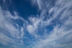 More glorious skies (archangel 12) Tags: olympus ii ladder omd f3556 m1442mm em10olympus rcloudskysunsetblueorangejacobs