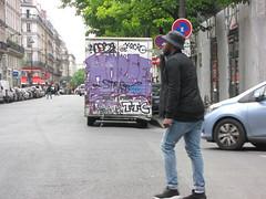 Horfe Graffiti Van (tofz4u) Tags: street people streetart paris truck graffiti ttc tag camion van rue artderue 75003 horfe horphe