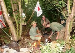 Australian Troops (MJ_100) Tags: infantry army military wwii australia ww2 soldiers diggers reenactment troops reenactor reenactors secondworldwar 2014 australianarmy victoryshow
