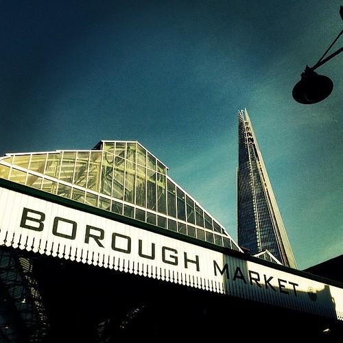 Shard from borough market