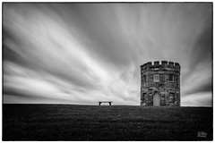 Barrack Tower Mono (Mike Hankey.) Tags: sunrise landscape published laperouse barrack bareisland focus14