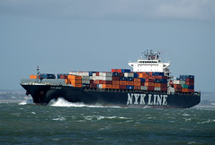 NYK Diana on the Solent (A F Photos) Tags: diana solent nyk