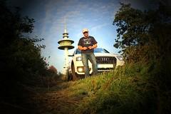 Audi Q3 (xflensburger) Tags: tower me canon countryside scenery ground scene audi turm province schleswigholstein langenhorn nordfriesland stollberg selfi bordelum eurpcar