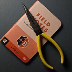 Electrical (The Marmot) Tags: notebook flickr tool ordinary fieldnotes fieldnotesbrand memobooks x100s