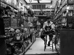 Chinatown Shop (TigerPal) Tags: bangkok thailand thai southeastasia street feltlife travel streetphotography chinatown yarowat medicine medicineshop easternmedicine orientalmedicine traditional shopkeeper monochrome