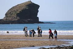 MRP_7354 (preedyphotos) Tags: cornwall kernow portreath beach coast northcornihcoast rocks tidesout walkingonbthebeach beachwalking outdoors exercise sand martinpreedy canon eos1dx
