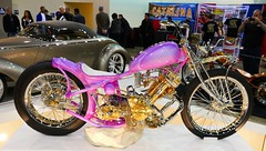 1949 Panther M100 (bballchico) Tags: 1949 pantherm100 andrewursich motorcycle chopper grandnationalroadstershow gnrs2017 carshow