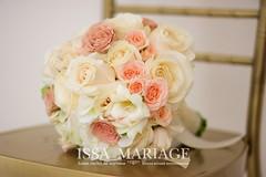 buchet mireasa issaevents (IssaEvents) Tags: buchet mireasa nasa crem ivory portocaliu trandafiri somon alb issa issaevents organizare decoratiuni evenimente valcea florarie