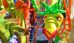 Dragons of New Orleans! (BKHagar *Kim*) Tags: bkhagar mardigras neworleans nola la parade day celebration party street napoleon uptown crowd beads carnival man sunglasses dragons dragonsofneworleans