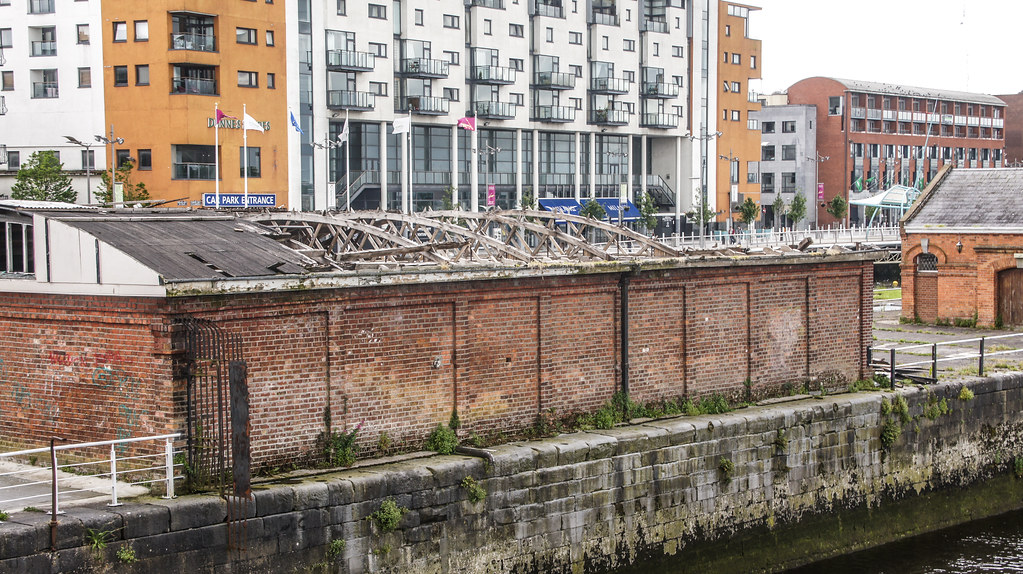 THIS BOAT CLUB IN LIMERICK LOST ITS ROOF IN A STORM