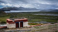 Туалет в монастыре Самдинг в Тибете