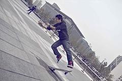 Skateboard boy (Joker_Director) Tags: road cute fall mobile drunk way student teacher skateboard addicted glutton crutch embarrassed childish bookworm motobike moocher falldown fallover officelady