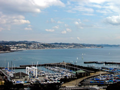 3965 Kamakura and Shonan (mari-ten) Tags: sea mountain nature japan boat pacificocean 日本 enoshima kanagawa kanto 2012 fujisawa eastasia 神奈川県 藤沢市 江の島 farandwide 関東地方 201203 20120311