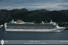 Azura (Aviation & Maritime) Tags: cruise norway po cruiseship bergen azura pocruises
