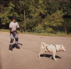"""WooFDriver Roller Blading With Czar • <a style=""""font-size:0.8em;"""" href=""""http://www.flickr.com/photos/96196263@N07/14367760499/"""" target=""""_blank"""">View on Flickr</a>"""