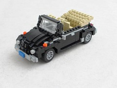 VW Beetle convertible (1) (Mad physicist) Tags: car vw volkswagen lego beetle