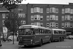 Amsterdam, Mercatorplein (1972) (Amsterdam RAIL) Tags: bus gvb baarsjes amsterdamwest aec stadsbus verheul gvba geledebus gvbamsterdam lijn19 aecverheul xb0769