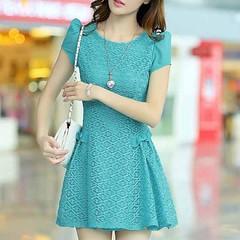 ชุดราตรี ชุดทำงาน แฟชั่นเกาหลี สีฟ้า XL นำเข้า - พร้อมส่ง TJ7238 ราคา1200บาท  โทรสั่งของกับ พี่โน๊ต/พี่เจี๊ยบ : 083-1797221, 086-3320788, 02-9394933 | LINE User ID : lotusnoss และ lotusnoss.com #ชุดราตรี #เสื้อผ้าแฟชั่น #ชุดสวยๆ