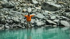 Священое озеро Гаурикунд на Кайласе в Тибете