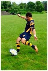 Rugby (e r j k . a m e r j k a) Tags: sports watercolor newjersey action kick pennsylvania rugby tournament indianola cheswick erjkprunczyk