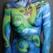 renee body paint octopus 01