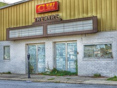 GW Theatre (podolux) Tags: signs building abandoned sign lumix theater wv forgotten westvirginia charlestown dilapidated abandonedbuilding 2014 jeffersoncounty dilapidatedbuilding lumixdmcfz200 july2014