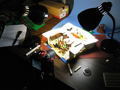 Behind the Scenes (rioforce) Tags: set lego behind behindthescenes scenes brickfilm