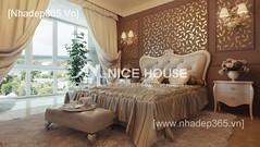 Thiết kế nội thất phòng ngủ tân cổ điển_02