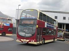 East Yorkshire 749 YX09BKE Hull Interchange on X56 (1024x768) (dearingbuspix) Tags: 749 eastyorkshire eyms yx09bke petuariaexpress