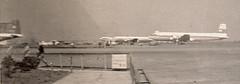Propliners at Tokyo(?) airport, circa 1953 (Proplinerman) Tags: tokyo aircraft boeing douglas usaf languedoc airliner 1953 northwestairlines dc6 propliner stratocruiser dc6b c118