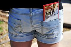 Summer tourist in Malta (milka rabasa) Tags: travel summer fashion walking back holidays map malta tourist jeans teenager leisure shorts loisirs tourisme denimshorts jeansshorts nobrandfashion