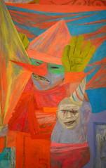 Yasuo Kuniyoshi - Fakirs (pjpink) Tags: summer museum painting washingtondc smithsonian dc washington july artmuseum 2014 saam smithsonianamericanartmuseum pjpink