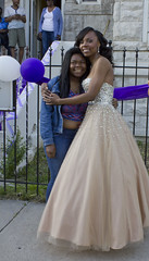DAJA PROM 11 (AHummons Photography) Tags: family school people woman chicago black senior beautiful youth happy high hugging community hug princess african secret joy young happiness prom american lives embrace