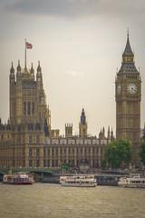 Palace of Westminster - Big Ben and Houses of Parliament - London, UK (jkuphotos) Tags: uk england london westminster thames river unitedkingdom housesofparliament parliament bigben palace riverthames westminsterbridge