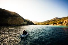 Dinghy Pilots (Neel Nayak) Tags: ocean california santacruz beach water sailboat boat waves sailing yacht boating channelislands dinghy yachting coastalcruising santacruzisland willowsanchorage