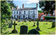 The Riflemans Arms, Droitwich Spa (brianac37) Tags: england graveyard bar pub inn churchyard worcestershire alehouse publichouse droitwichspa