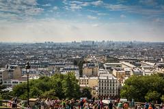 Paris from Sacré-Cœur